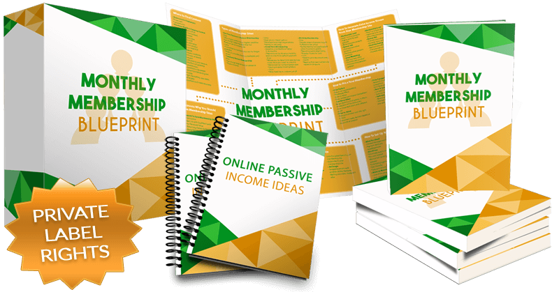 Monthly membership blueprint with private label rights plrxtreme monthly membership blueprint private label rights package malvernweather Choice Image