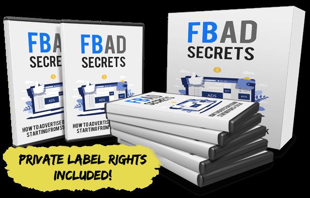 FB Ad Secrets PLR Review